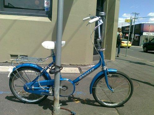 Raleigh Roamer shopper bike