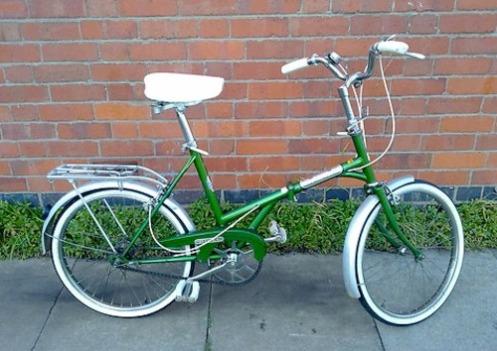 1975 Daws Kingpin folding bike from Vintage Green Bike