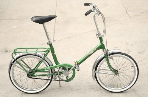 Bianci from Vintage Green Bike vie Fuck Yeah Weird Bikes