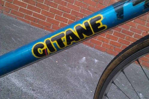 Decal Gitane 70s 2